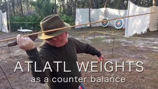 Atlatl Weights as a Counter Balance