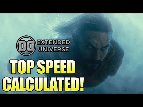 How Fast is the DCEU Aquaman Underwater? - 동영상