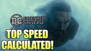 How Fast is the DCEU Aquaman Underwater?
