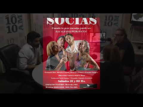 #Socias en Espacio Teatro - Sábados 21.30 hs