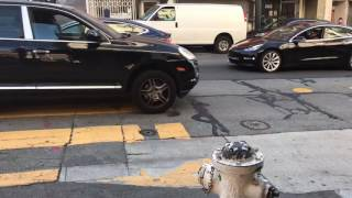 2 Tesla Model 3 Spotted in San Francisco Chinatown