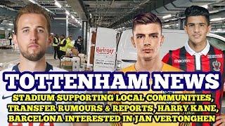 Tottenham News: Transfer News, Stadium Supporting Local Communities, Barca Tracking Jan, Harry Kane
