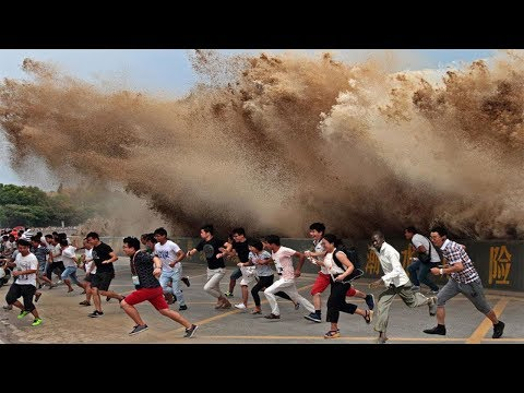 Mother Nature Angry Caught On Camera | Amazing Monster Flash Flood Compilation ✔P4
