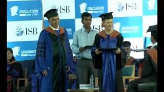 I.S.B. Graduation Day - Sai Prasad Vishwanathan