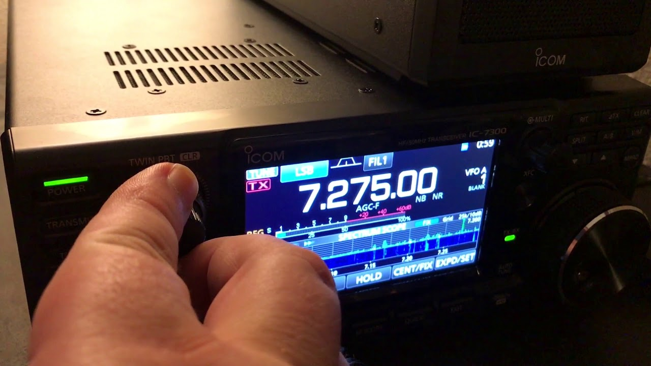 Icom IC-7300 RF Gain & Pass Band Filter Tuning - - vimore org