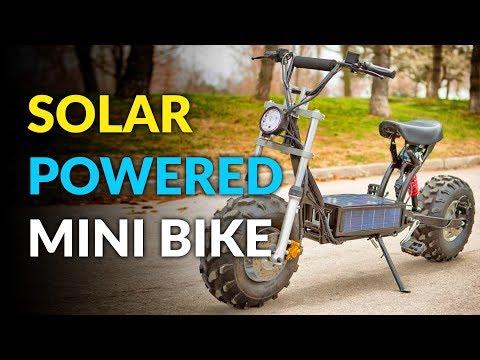 Daymak Beast: A Solar Powered Mini-Bike