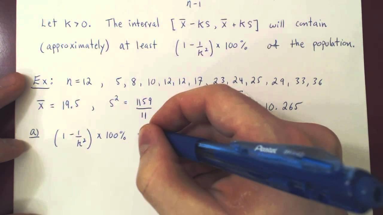 Chebyshev's Theorem - YouTube