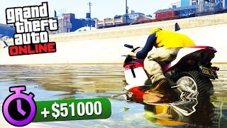 GTA Online - Time Trial #7 - Storm Drain (Under Par Time)