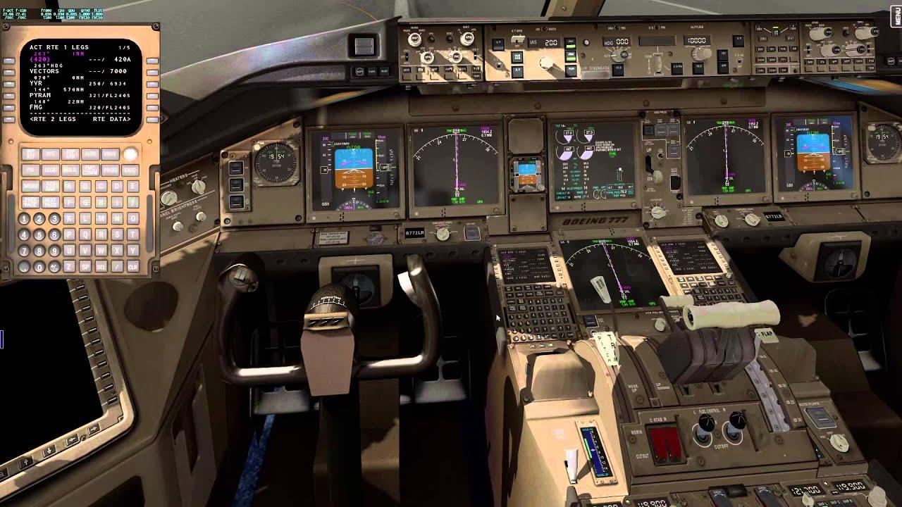FSX SE PMDG 777-200R vs X-plane 10 Ramzess 777-200R overview
