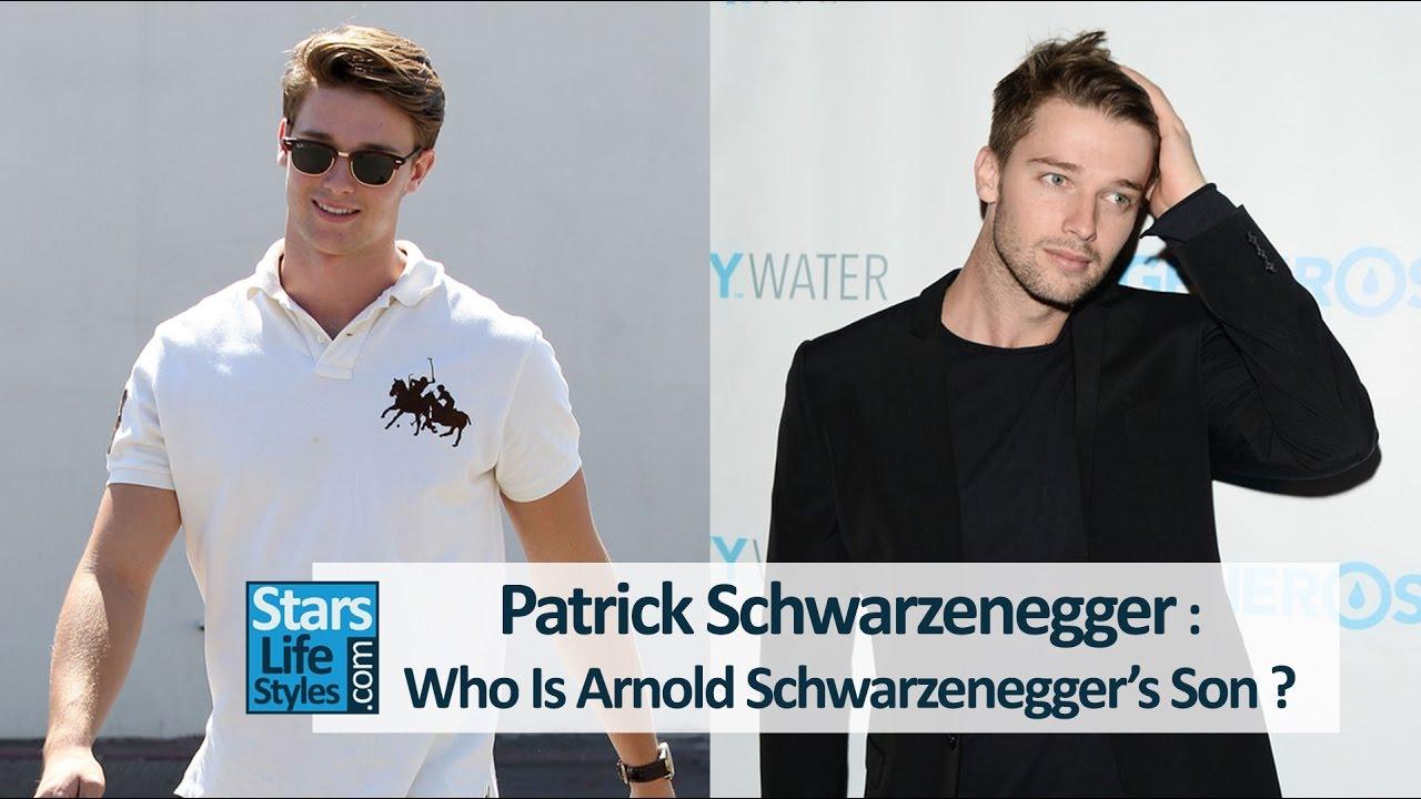 Who is hookup arnold schwarzenegger son