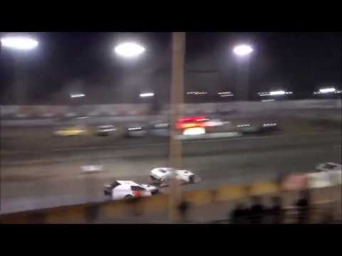 IMCA Modified Main Event - Tulare Thunderbowl Raceway - 10.7.17