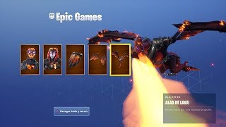 BUYING NEW *PACK LAVA LAWS* AND VICTORIA NEW MODE *THE FLOOR IS LAVA* in FORTNITE!