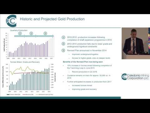 Caledonia Mining's Maurice Mason presents at the Mining Capital Conference