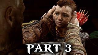 God of War Gameplay Walkthrough Part 3 - ATREUS (God of War 2018 PS4)