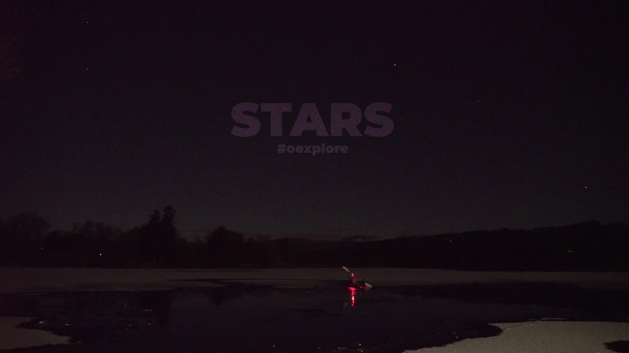 Stars - night kayaking - Scotland - Outdoor Explore