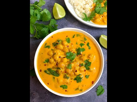 Chickpea Coconut Curry (Instant Pot & Stove Top)