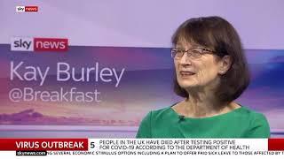 Dr Jenny Harres Deputy Chief Medical Officer with latest #Coronavirus advice  10 Mar 2020