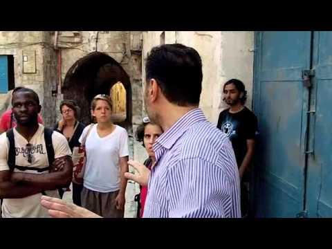 Tour of Nablus Palestine