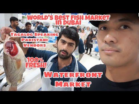 DUBAI WATERFRONT MARKET | WORLD'S BEST FISH MARKET - DEIRA FISH MARKET (TAGALOG SPEAKING VENDORS)