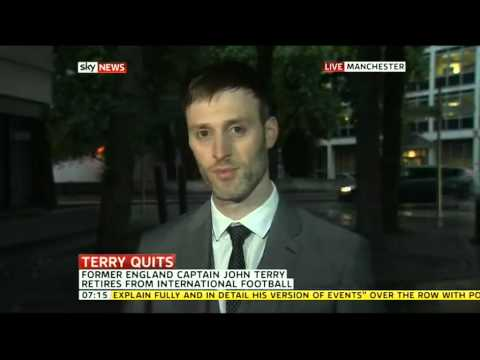 Farleys' Sports Lawyer Daniel Draper talks John Terry on Sky News Sunrise