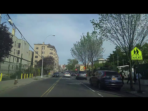 Driving from Highbridge to Morrisania in The Bronx,New York