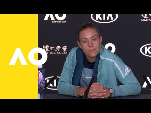 Angelique Kerber press conference (4R) | Australian Open 2019
