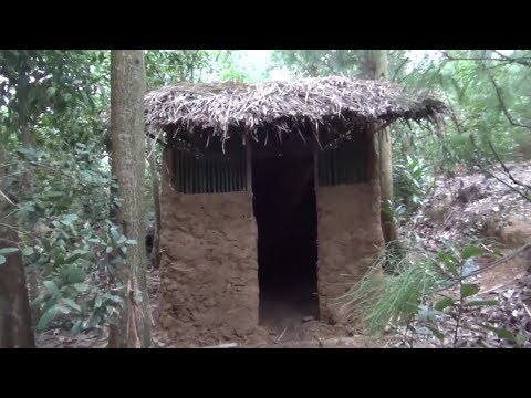 Primitive technology:Birds house-part 2-Primitive life-wilderness!!!😍