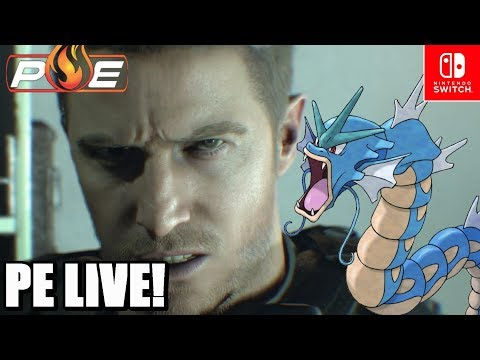 PE ! Road to E3 Day 16  Resident Evil 7 Cloud  Pokemon Switch Rumor  Q&A!