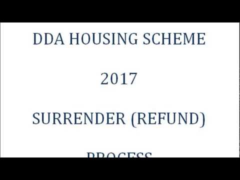 DDA AAWASIYA YOJANA / HOUSING SCHEME 2017 COMPLETE SURRENDER