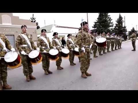 Banda Militar de Piedra Buena tocando NENA MARAMA