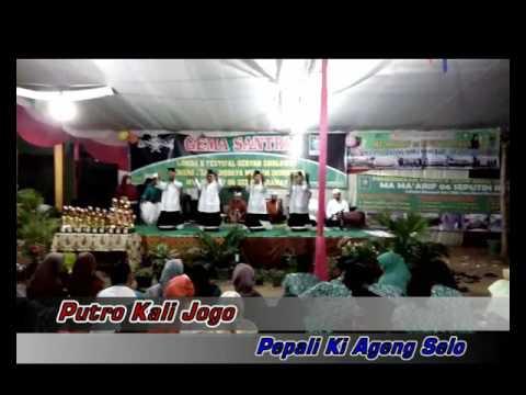 Sholawatan kolaborasi musik jaranan! Putro Kali Jogo