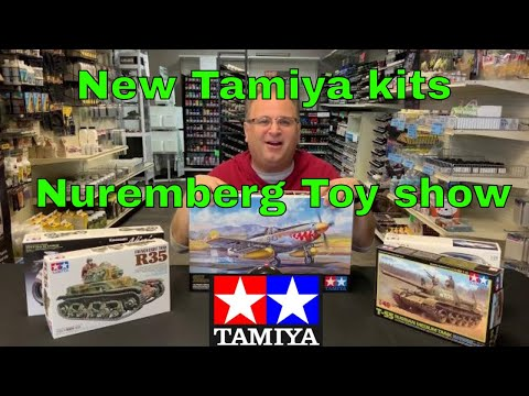 Tamiya New Releases From The Nuremberg Toy Show, Brand New Model Kits Coming Soon.