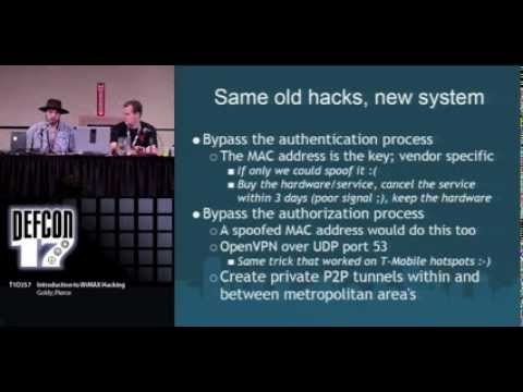 DEFCON 17: Intro to WiMAX Hacking