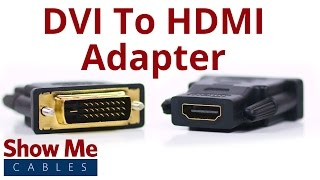 DVI-D Dual Link Male to HDMI Female Adapter #3600