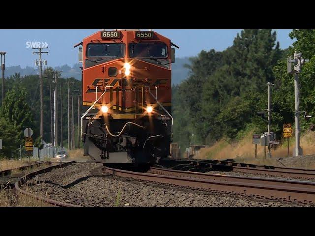 Bahnknoten Portland im US-Bundestaat Oregon. Von Güterzügen, Straßenbahnen und Modellbauern