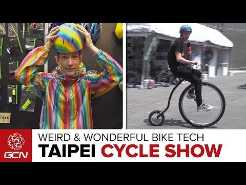 Weird & Wonderful Tech At The Taipei Cycle Show 2017