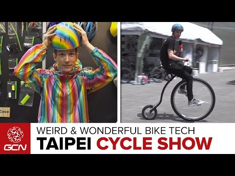 Weird & Wonderful Tech At The Taipei Cycle Show 2017