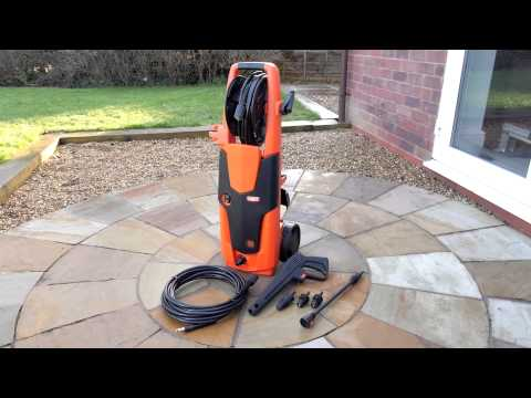 How to use...Vax 2500W Pressure Washer