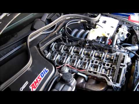 Mercedes-Benz W202 C280 Valve Cover Gasket Replacement
