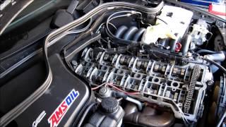 /> 12 350 3.7 Essence Valve Rocker Cover Gasket droit pour Mercedes SL R230 03