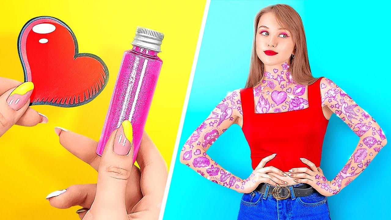 THỦ THUẬT LÀM ĐẸP, TRANG ĐIỂM VÀ LÀM TÓC CỰC CHẤT || Mẹo Làm Điệu Tuyệt Vời Từ 123 GO! | Tổng hợp kiến thức về tóc đẹp mới nhất