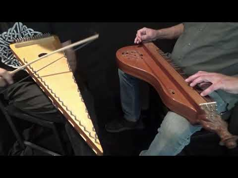 """BOYS OF WEXFORD"" - Hummel & Bowed Psaltery"