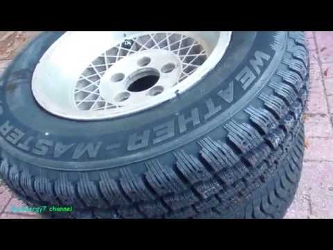 COOPER Winter Tires, USA Made, USA Owned, '78 El Camino Install Tips