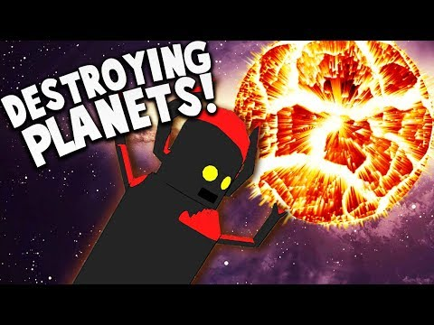 GIANT CLUMSY ROBOT DESTROYS PLANETS?! | Jettomero Hero Of The Universe Gameplay Part 1