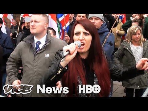 We Met The British Right-Wing Bigot Trump Retweeted (HBO)