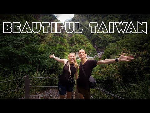 INCREDIBLE Taroko Park Waterfall on Baiyang Trail! (Hualien Taiwan)