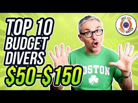 Top 10 Best Dive Watches $50 - $150!
