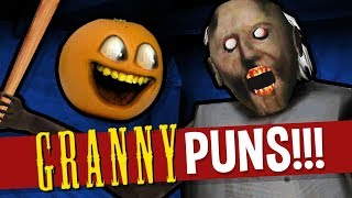 Annoying Orange - GRANNY Puns!