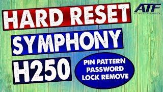 symphony h250 hard reset