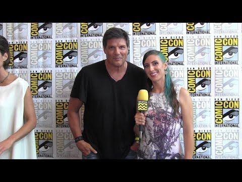 Paul Johansson (Van Helsing) at Comic-Con 2017
